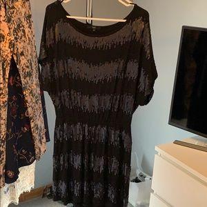 Tart black sequin dress